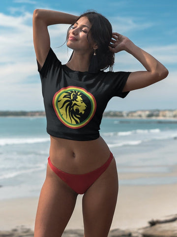 Lion of judah crop tee RLW2248