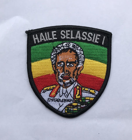 Haile selassie I Embroidery Iron Patch RLW2655