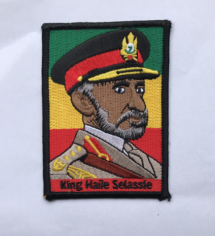 King Haile selassie Embroidery Iron Patch RLW2653
