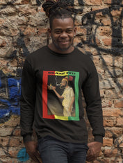 """Blaze It"" Rastafarian Men's Long Sleeved T-shirt RLW669"
