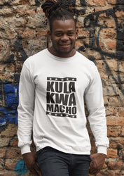 """Kula Kwa Macho"" Kenyan Men's Long Sleeved T-Shirt RLW427"