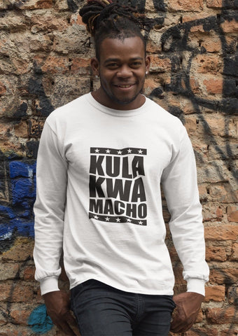 Kula Kwa Macho Kenyan Men's Long Sleeved T-Shirt RLW427