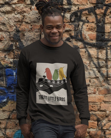 Three Little Birds Men's Long Sleeved T-Shirt RLW268