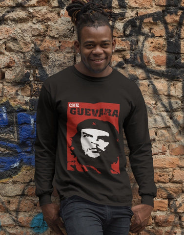 Che Guevara long sleeved men's t-shirt RLW921