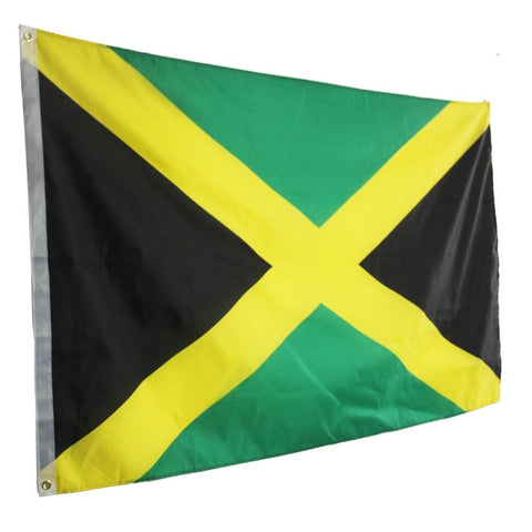 Large Big Jamaican 120 x 180 cm Flag/Banner RLW1213