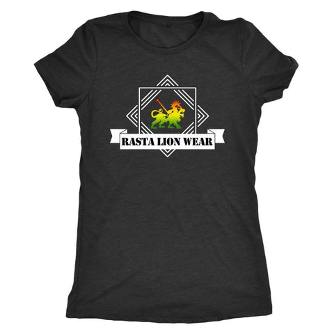Rasta lion wear cool ladies T-shirt RLW385