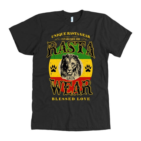 Rasta Lion Wear Men's T-shirt RLW50