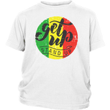Get up stand up youth t-shirt RLW1315