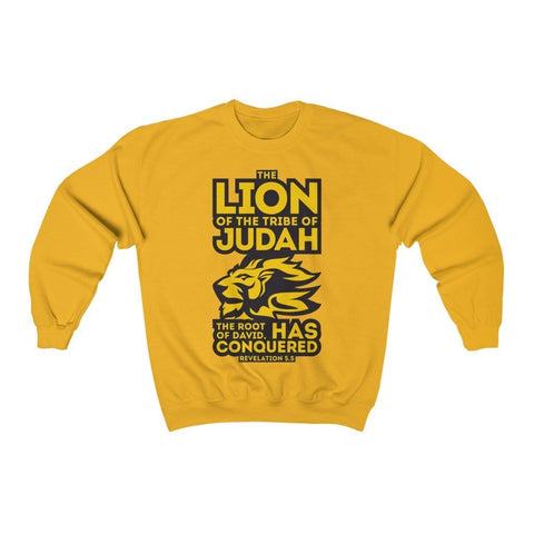 Lion of Judah Unisex Heavy Blend™ Crewneck Sweatshirt RLW2344