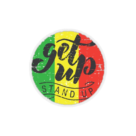 Get up stand up Kiss-Cut Stickers RLW2466