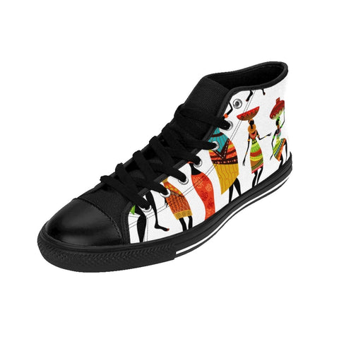African print Women's High-top Sneakers RLW2093