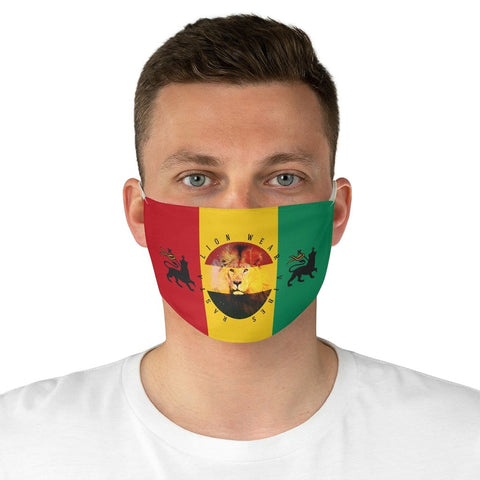 Rasta lion wear vibes Fabric Face Mask RLW1288