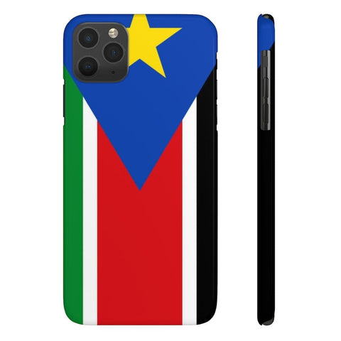 South sudan Case Mate Slim Phone Cases RLW2621