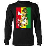 Rasta Man Long Sleeved Shirt RLW1690