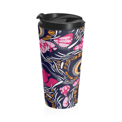 African print Stainless Steel Travel Mug RLW2644