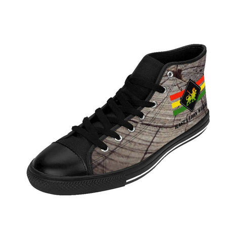 Rasta lion wear Men's High-top Sneakers RLW1787