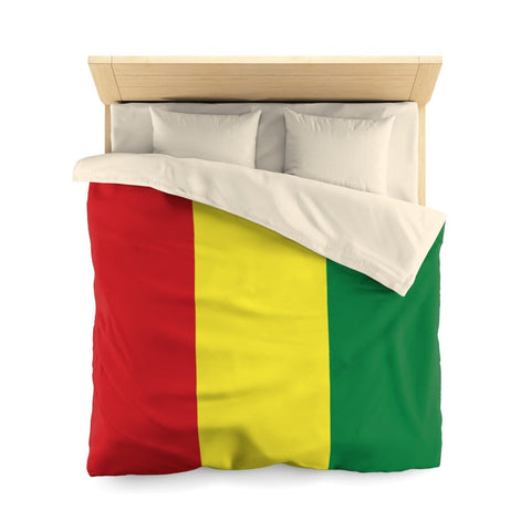 Rasta colour Microfiber Queen Duvet Cover RLW2446
