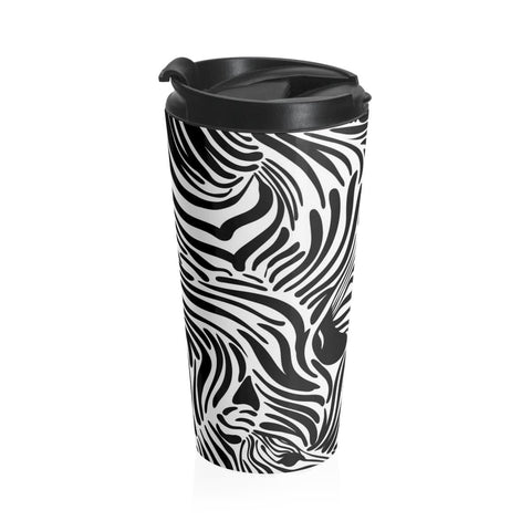 Zebra print Stainless Steel Travel Mug RLW2641