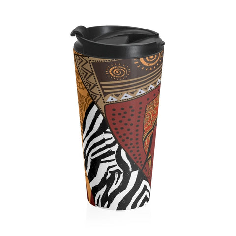 African print Stainless Steel Travel Mug RLW2646