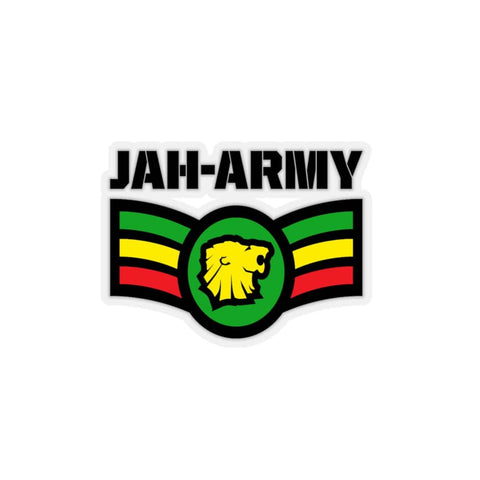 Jah Army Kiss-Cut Stickers RLW2455