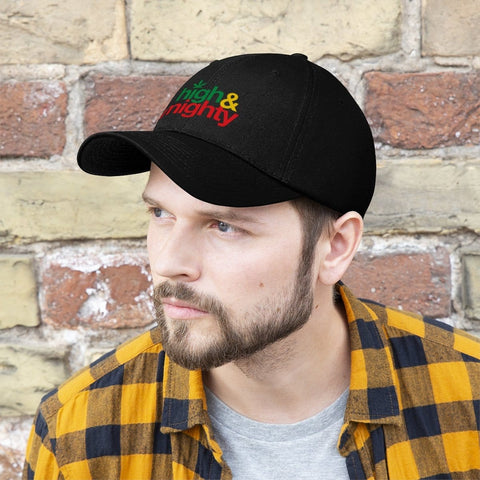 High and mighty Unisex Twill Hat RLW2632