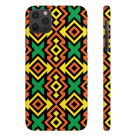 African print Case Mate Slim Phone Cases RLW2623