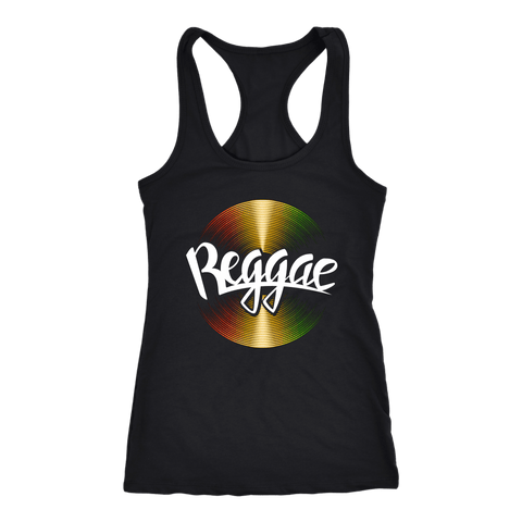 Reggae cool vinyl Ladies T-back RLW1488