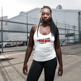 Kenyan flag Women's T-back RLW1677