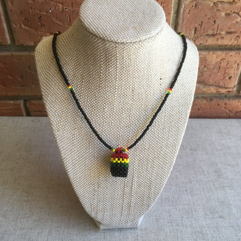 Wicked Rastafarian Necklace RLW1357