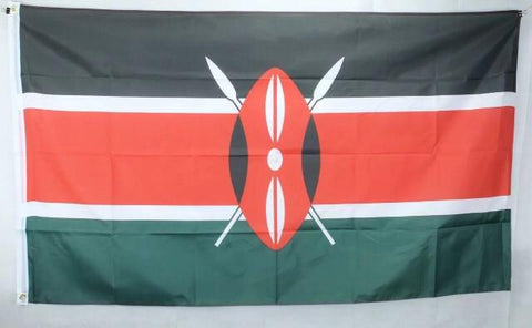 Big 1.5M Republic of Kenya Flag RLW53