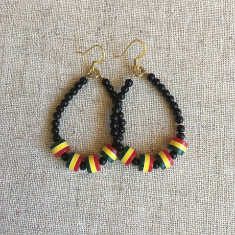 Rastafarian cool Earrings RLW1300