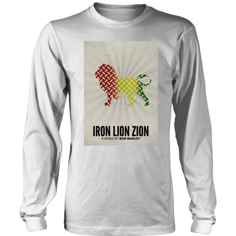 Iron Lion Zion Long Sleeved T-Shirts RLW1307