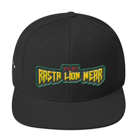 Rasta lion wear Yupoong 6089M Wool Blend Snapback RLW2762