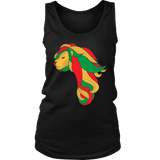 African map Lion Women's singlet/tank RLW1387