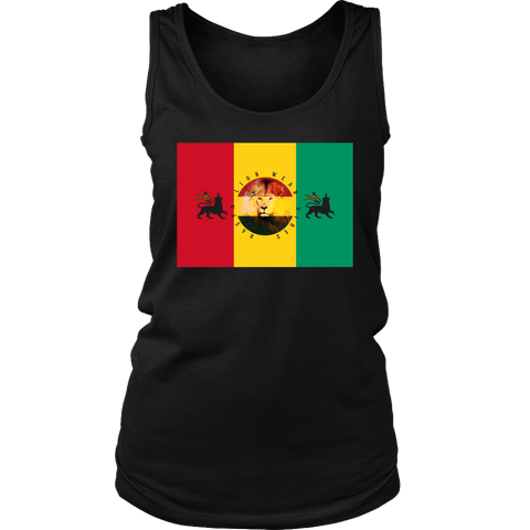 Rasta lion wear vibes women's tank RLW1768