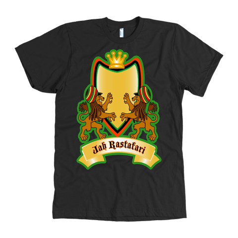 Jah Rastafari Men's T-shirts RLW1464