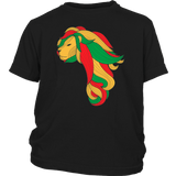 African map Lion youth T-shirt RLW1373