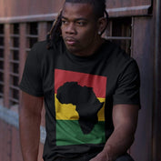 Africa/Rasta Men's T-shirt RLW2068