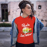 Rasta Lion Wear women t-shirt RLW765