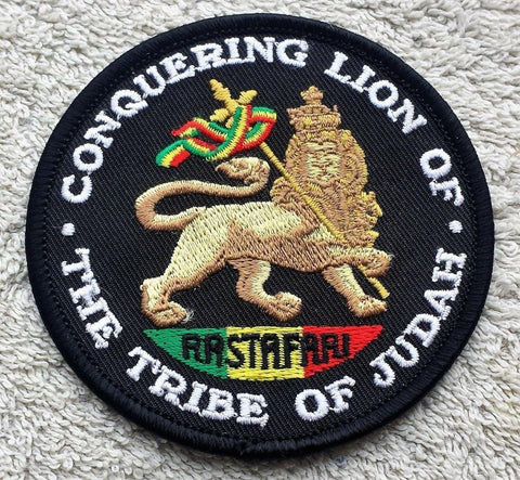 Lion of Judah Piron on or saw patch RLW2925
