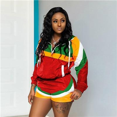 Tracksuit Two Piece Zipper Up rasta Outfit RLW2867