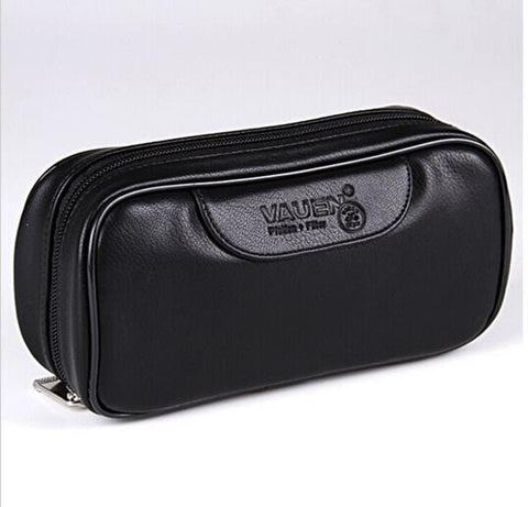 Soft Portable  Smoking Pipe Case/Leather Bag /Pouch RLW1411