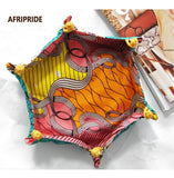 Awesome african patten fabric tray RLW1519