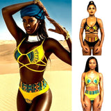 African Two-Pieces Bikini Set RLW1227