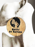 Notty by Nature Wood Earrings RLW943