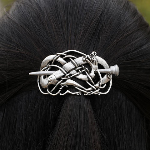 Large Vikings Dragon Hairpins Hair Clip RLW2041