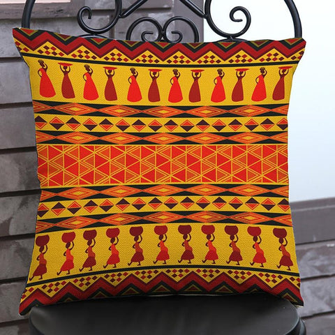 African Women Pattern Design Style Pillow Case RLW2280