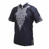 Native Men African Tribal Dashiki Shirt RLW1640