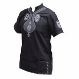 Men's Dashiki Embroidery Short Sleeve Traditional  African shirt RLW1654