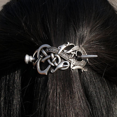 4*6cm Vikings Dragon Hairpins RLW1438